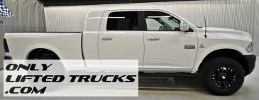 2012 Ram 2500 Diesel Mega Cab Laramie Lifted Truck For Sale!  $49,980