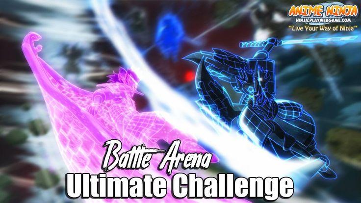 Anime Ninja - Ultimate Challenge Battle Arena Part 2 - Naruto Games - Br...