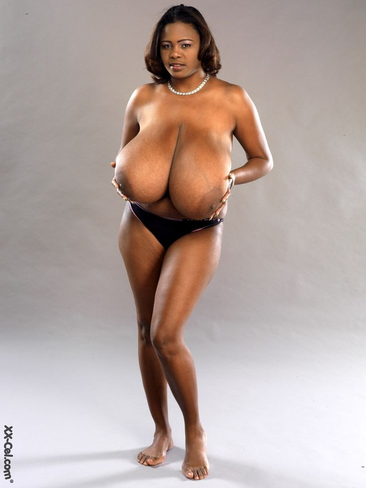 schwarze große brüste