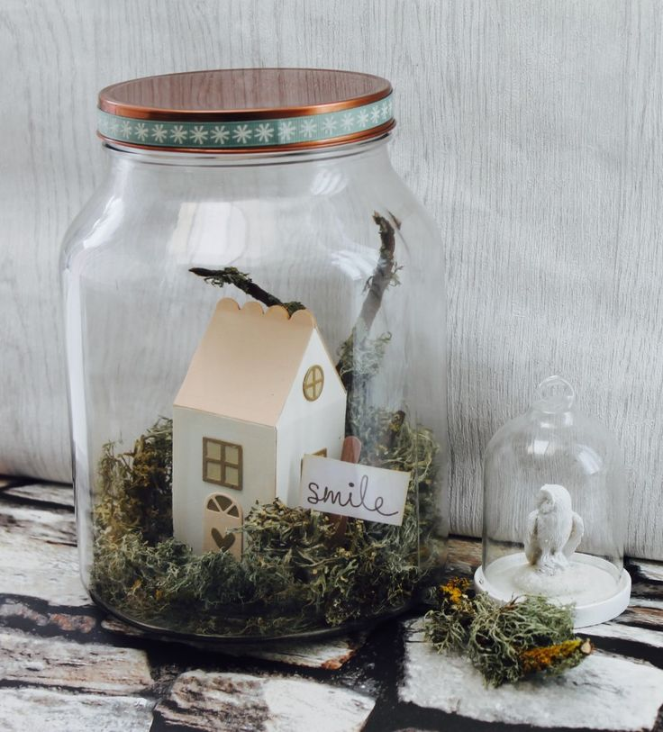 My Little House Jar
