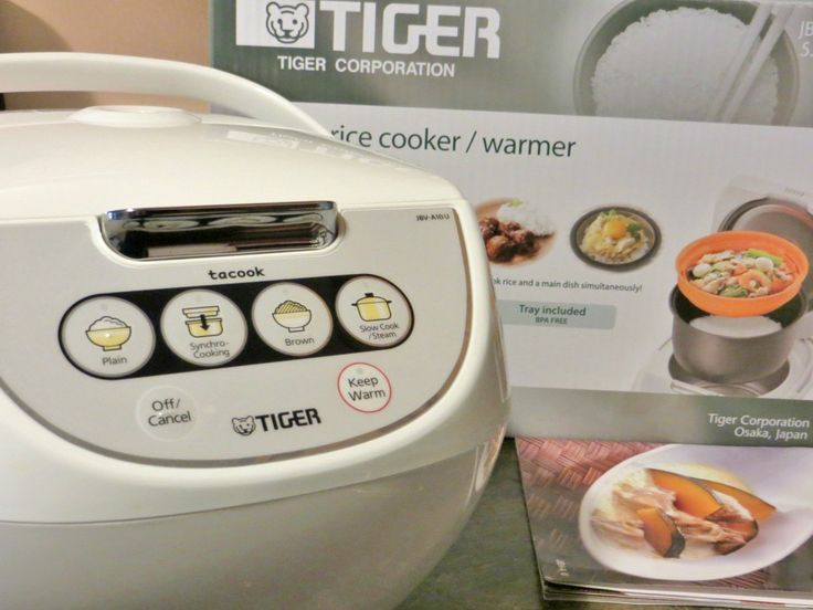 how to cook rice in a rice cooker tiger