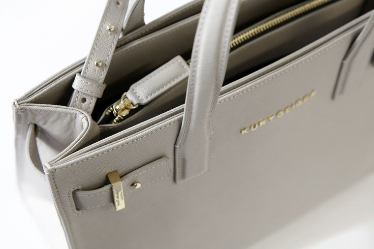 Saffiano 'London' Tote by Kurt Geiger London