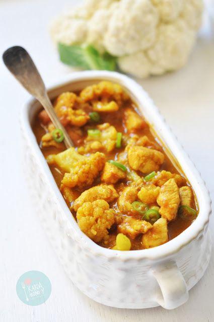 Kardamonovy: Curry z kurczakiem i kalafiorem