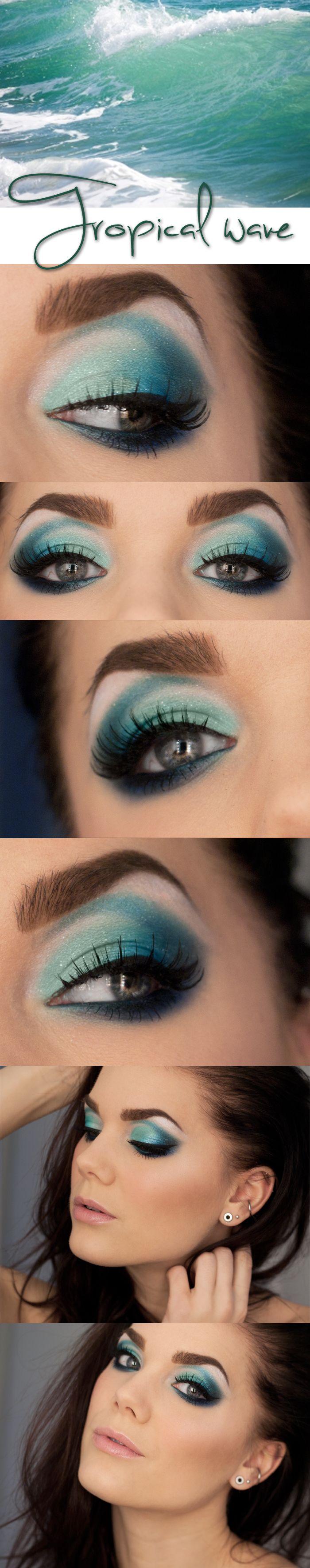Tropical Wave   Linda Hallberg - makeup artist