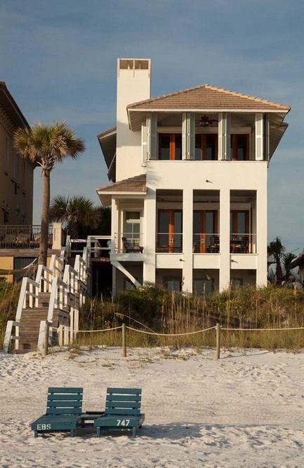 A Carillon Beach Renovation By A Boheme Design   An Architecture Design  Firm In Rosemary Beach. Coastal HomesBeach ...