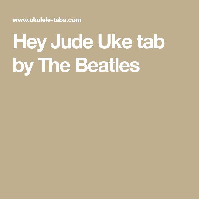 Hey Jude Uke tab by The Beatles
