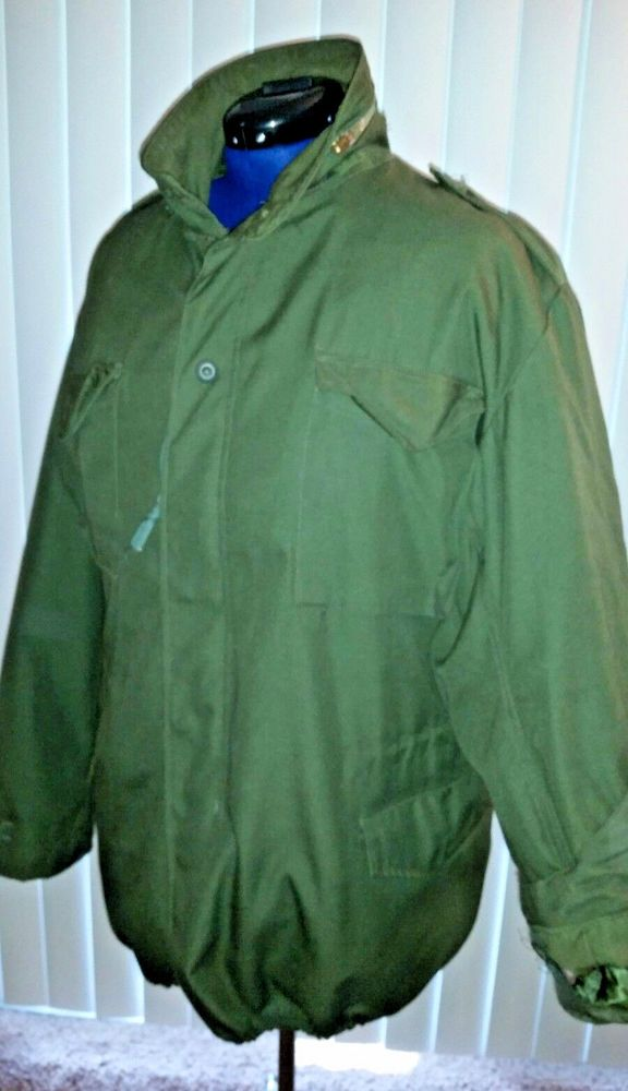 Camo Military M-65 Field Coat Camouflage Army M65 Tactical Uniform Jacket M1965 #Unbranded #Military