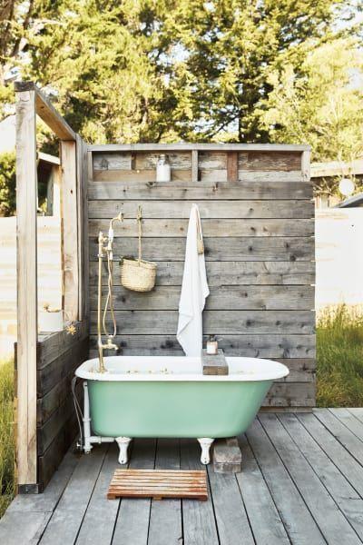 Thayer Gowdy Photographer California Home Tour Home Outdoor Tub