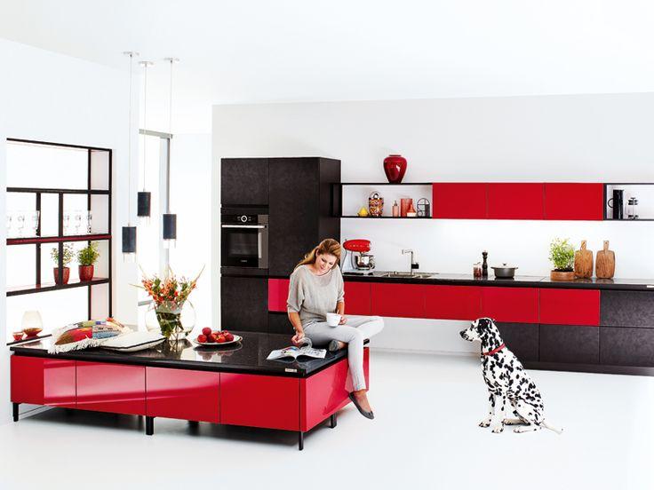 13 best au ergew hnliche k chen images on pinterest kitchens homes and inspirational. Black Bedroom Furniture Sets. Home Design Ideas