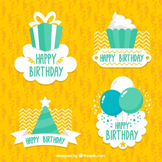 birthday stickers to print - Google Search | Birthday ...