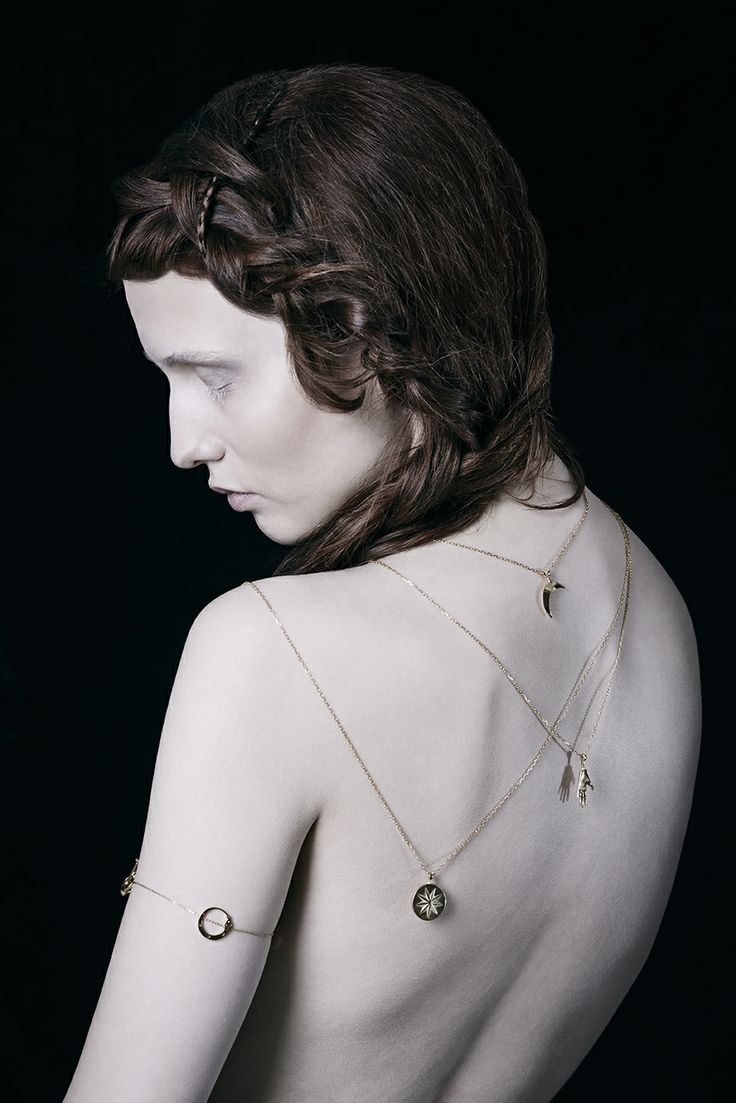Melancholia lookbook photo by Adrian Lach #Melancholia #Jewel #Jewellry #gold #lookbook