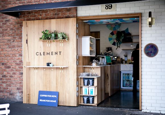 Clement Coffee Roasters - Melbourne. Interior Design by Jen Lowe, Brooke Thorn and Alisia Harrison.