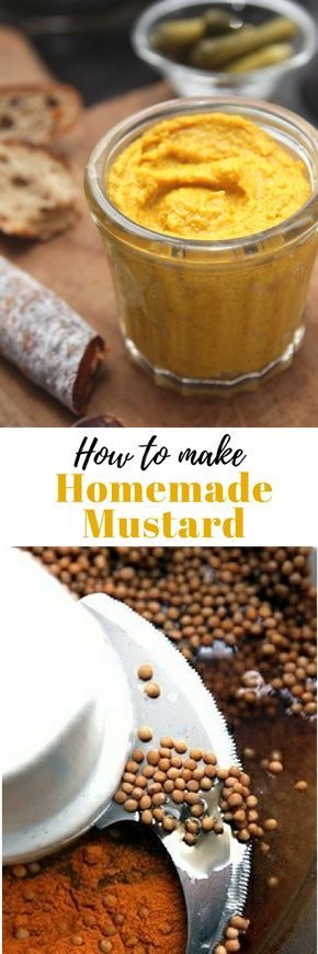 Make homemade mustard...in your own kitchen!