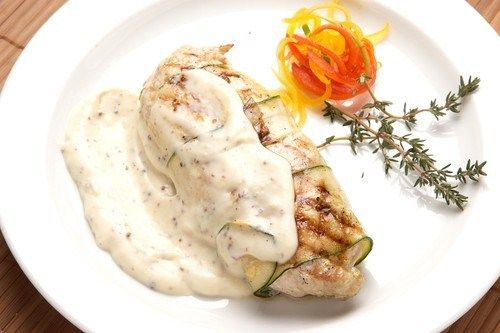 Медово-йогуртовый соус с горчицей к курице на гриле