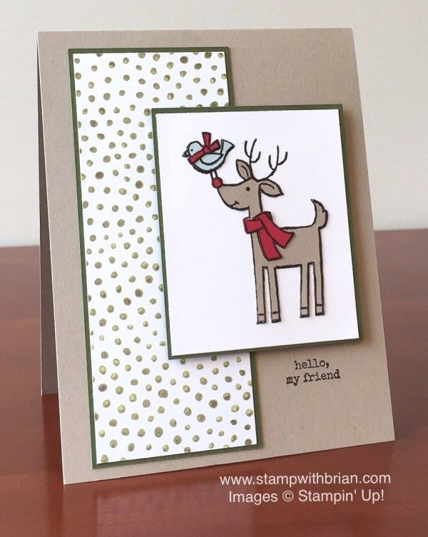 Santa's Gifts, Stampin' Up!, Brian King, CYCI84