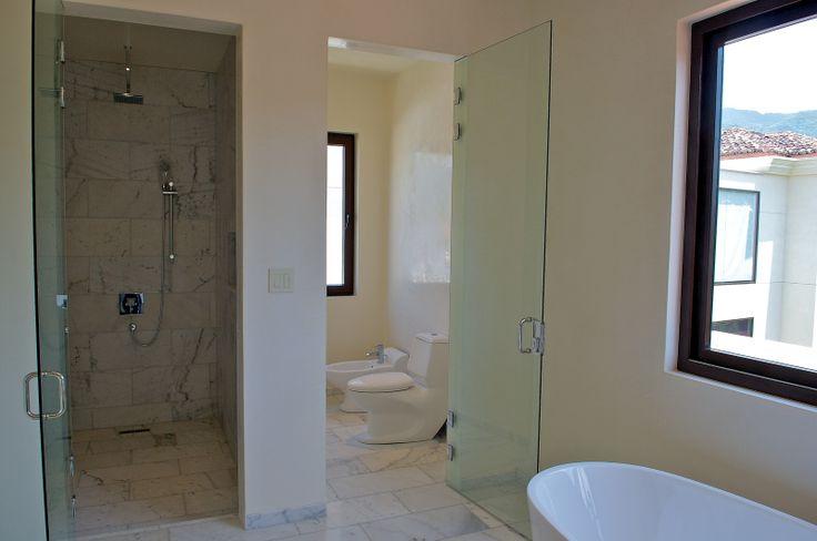 Contemporary bathroom http://costaricamilliondollarhomes.com/Casa-New-Mediterranean-Home/index.html