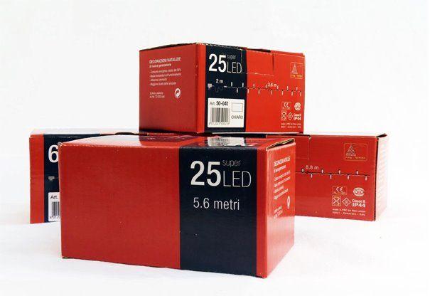 Packaging per illumninazioni natalizie New Lamps - 169 Design