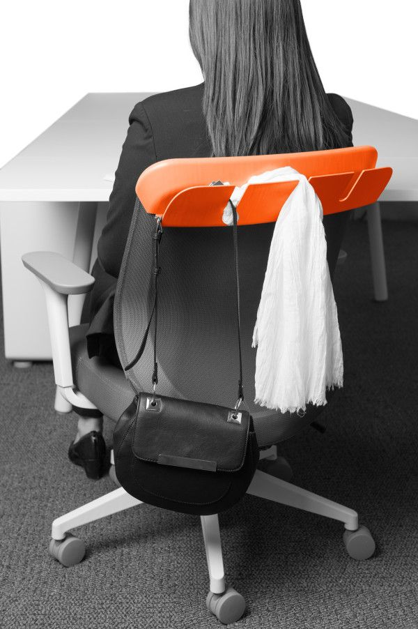 Great idea for open or home offices with limited space - office organization Poppin