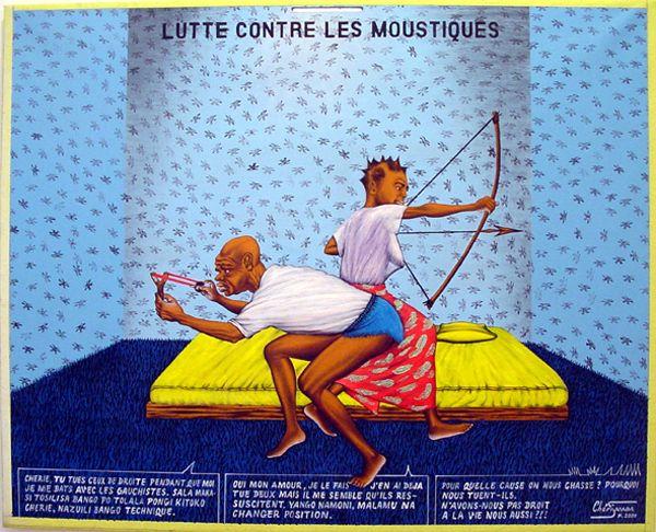 Lutte contre les Moustiques - Chéri Samba