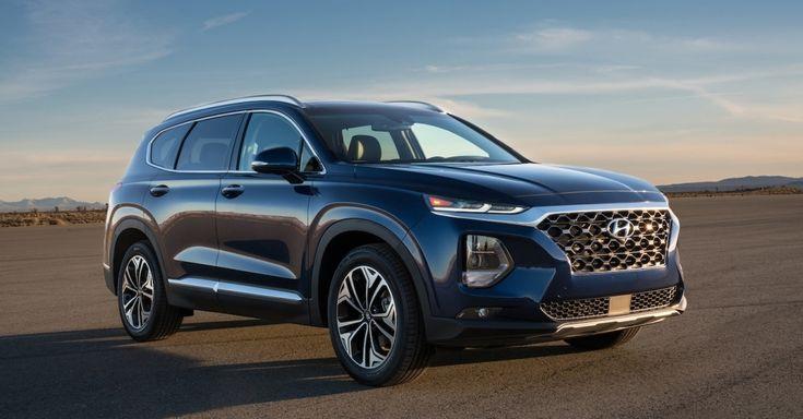 Hyundai Santa Fe Debuts Fingerprint Recognition Technology Hyundai Santa Fe