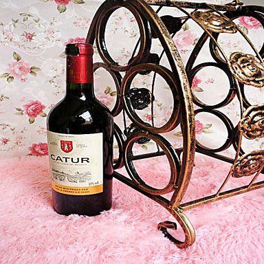 portáteis cinco garrafas de vinho tinto ferro forjado rack de forma criativa bronze antigo de 4949550 2016 por R$60,81