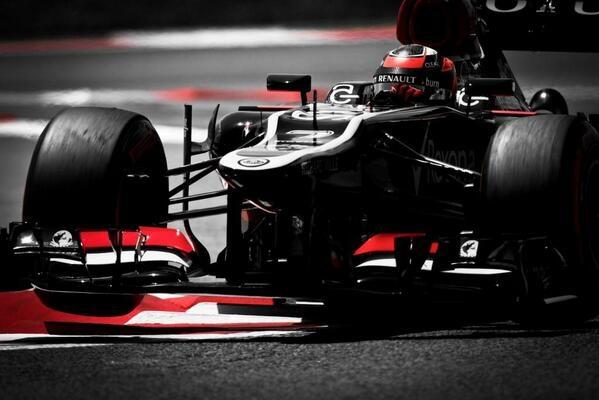 Kimi finishes P2 in the Spanish Grand Prix!