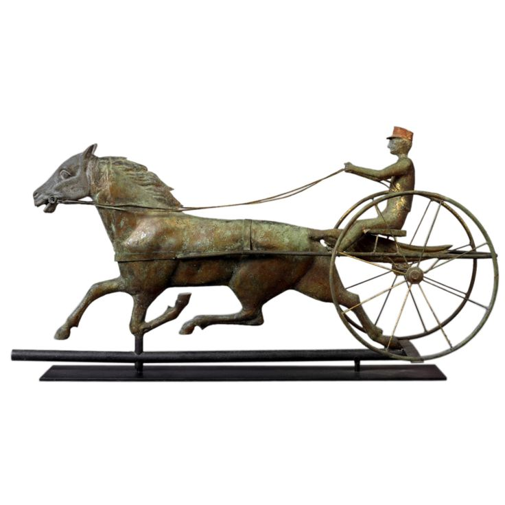 Horse And Sulky Weathervane At 1stdibs In 2019 Horses