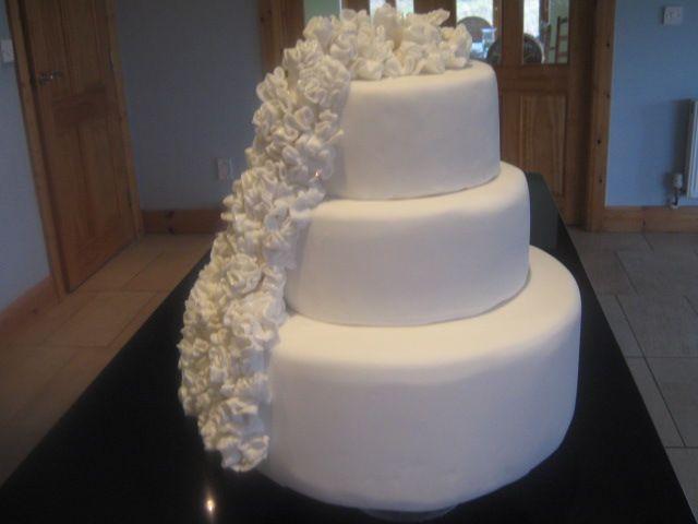 My frill s cake