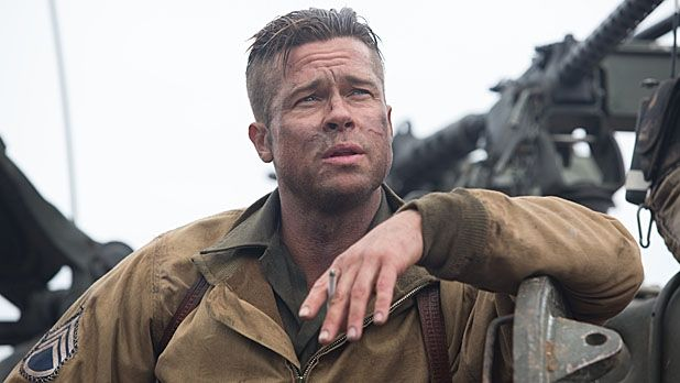 Brad Pitt's Hair from Fury