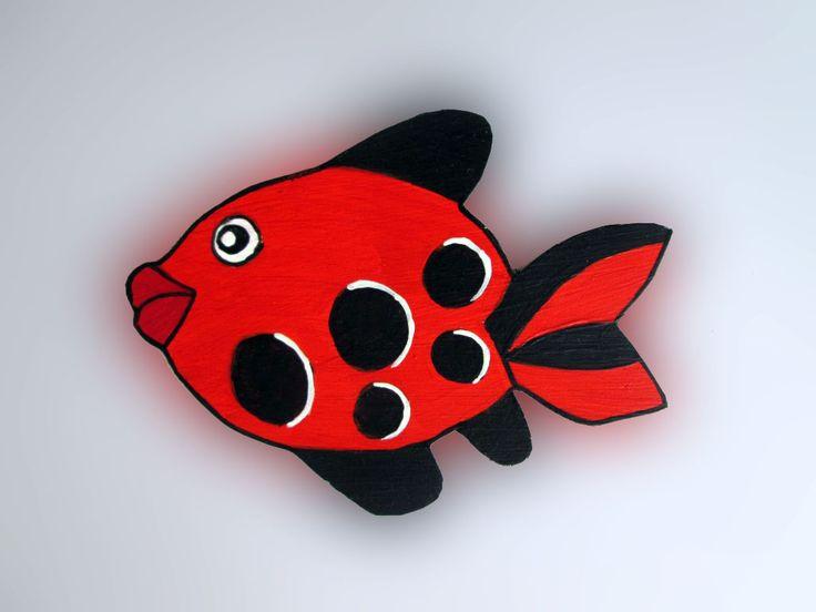 Imãs de geladeira - Peixes 038 / Magnets - Fishes 038