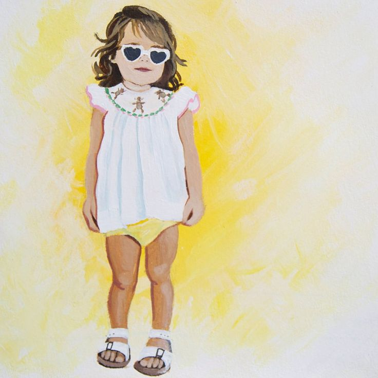 6 Resources For the Coolest Custom Portraits of Your Kids: If the idea of a family portrait conjures up images of a dusty, unforgiving oil painting up in your grandmother's attic, toss away your preconceived notions.