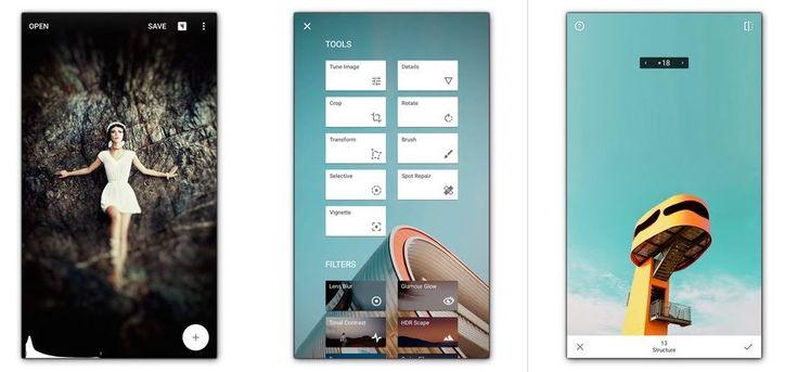 Apps para Instagram: Snapseed