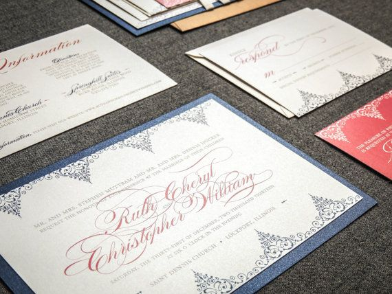Blue And Coral Wedding Invitations: 17 Best Images About Coral And Navy Weddings On Pinterest