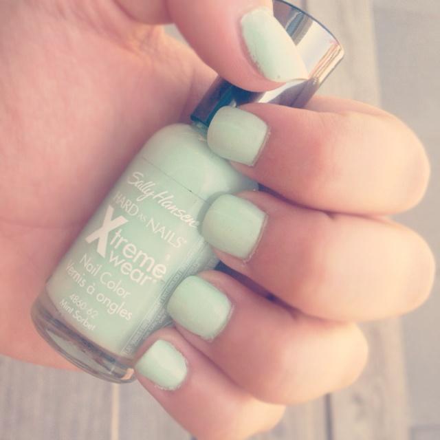 wearing this color right nowNails Art, Nail Polish, Exactly Nails, Mint Nails, Nails Polish, Beautiful Naillll, Nails Makeup Skin Beautiful, Painting Nails