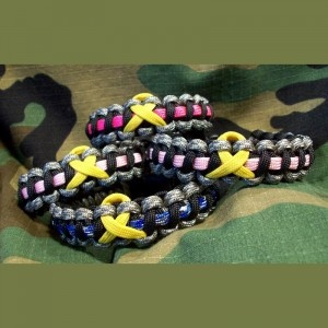 Support the Troops Yellow Ribbon Bracelets