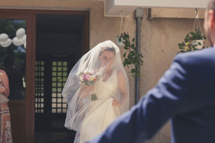 Here comes the bride!  #weddings #bride #groom #kiss #gif #weddingphotography