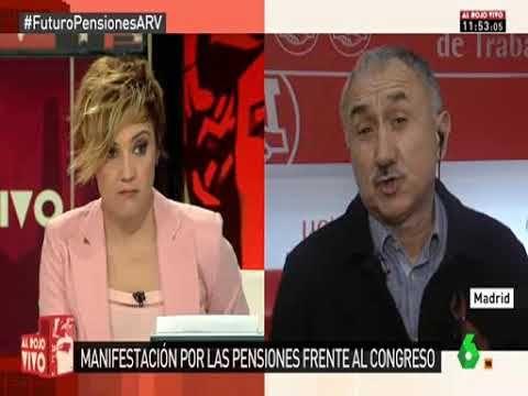 """SECCIO SINDICAL UGT SECURITAS CATALUNYA: Entrevista a Pepe Álvarez en """"Al Rojo Vivo"""" de La ..."""