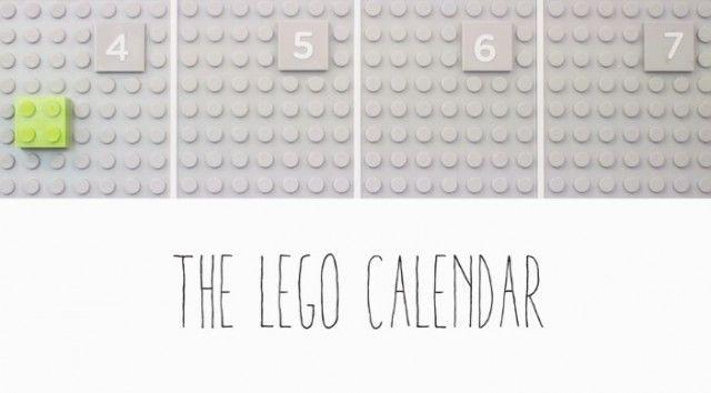Lego Calendar - Fubiz ™