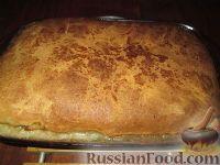 Фото к рецепту: Пирог с индейкой, картофелем и грибами