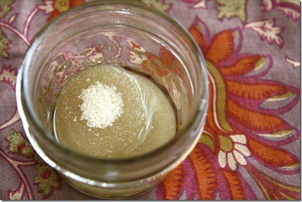 Two Ingredient Sugar Face Scrub