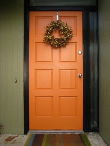This is the very color I just painted my front door, and I love it.