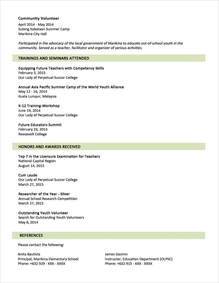 Resume Sample Of Resume In Malaysia Fresh Graduate the 25 best sample resume format ideas on pinterest cover examples resumes for fresh graduates two