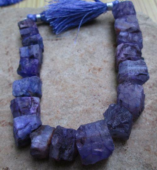 Full string Fency  Multi Blue colour onyx Cube by JaiVyavsayBeads, $9.00