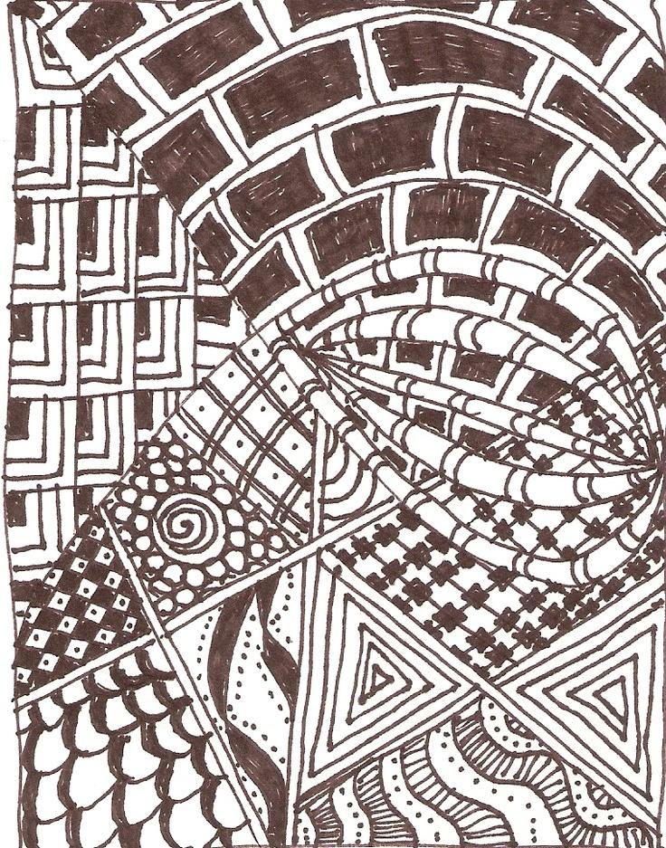 Zentangle #2