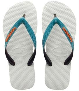 Havaianas Mens Top Mix White Blue