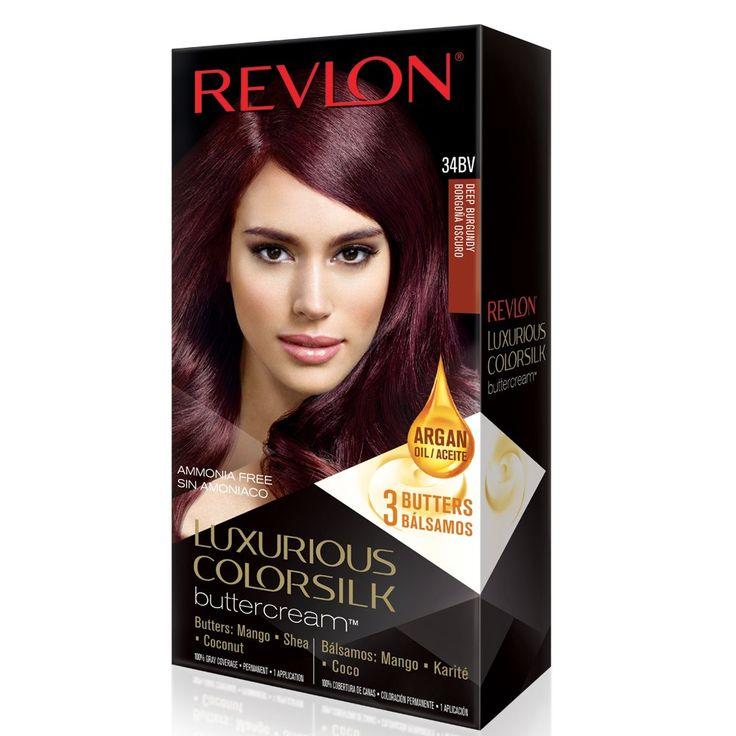 Revlon ColorSilk Luxurious Buttercream Hair Color - Deep Burgundy - oz. Revlon Luxurious Colorsilk Buttercream Deep Burgundy.