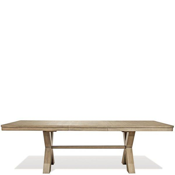 Villepinte Extendable Dining Table Trestle Dining Tables