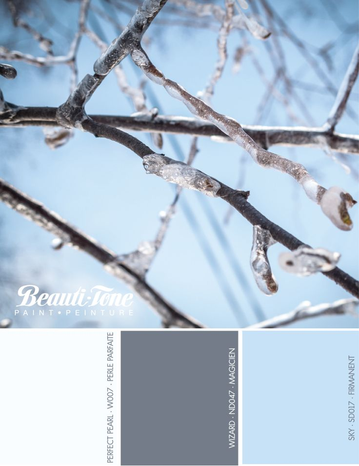 Got the December blues? Revitalize your décor with refreshing winter hues from #BeautiTone for a cool, calm and relaxing look.