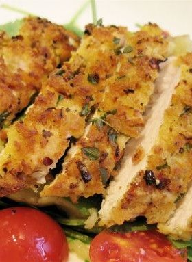 Crispy Lemon Herb Chicken Recipe...Mmm! Yummy :)