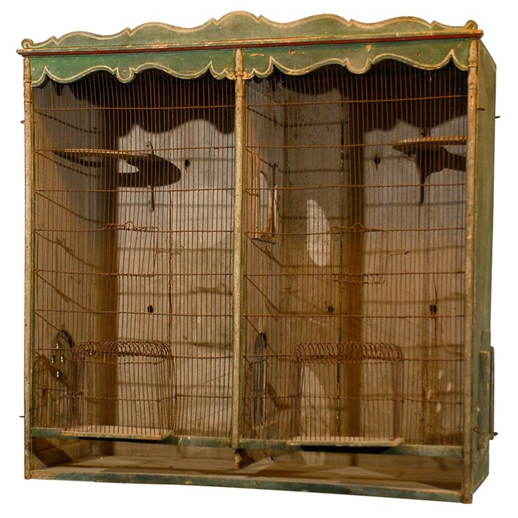 Late 19th Century French Birdcage